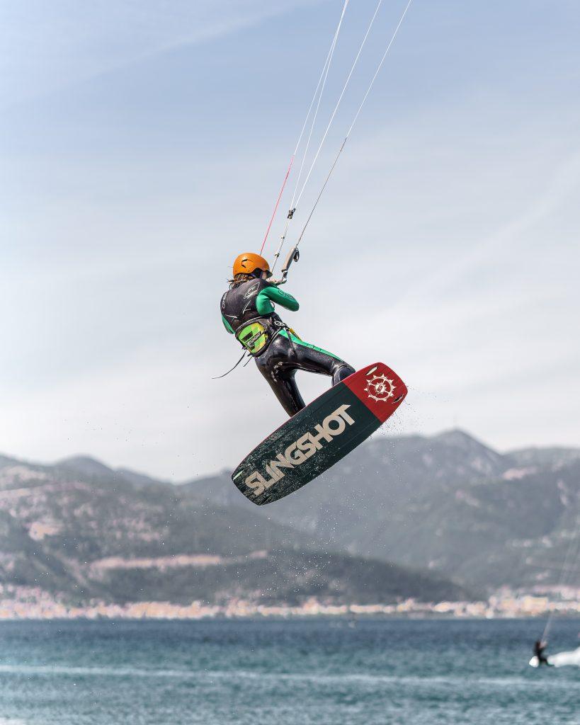 attrezzatura kitesurf livello